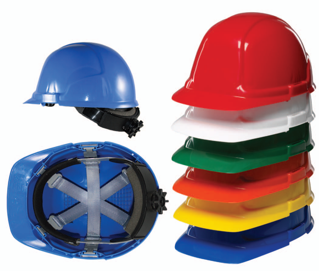SAFETY HELMETS - IN VARIOUS COLOURS