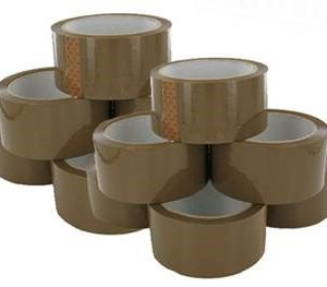 ACRYLIC TAPE BROWN