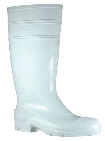BATA RUBBER BOOTS WHITE
